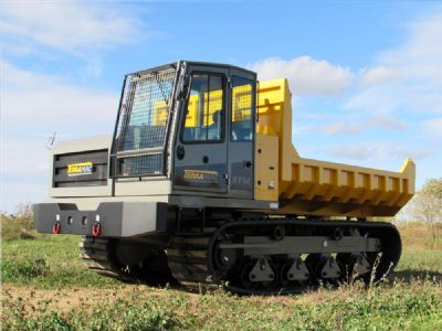 Pic: Terramac Launches RT14 Rubber Track Crawler Carrier